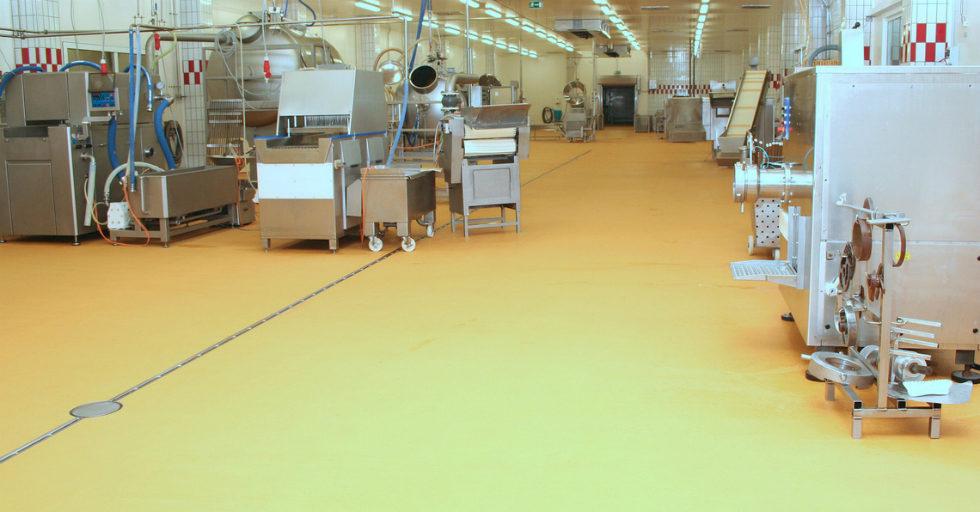 System posadzek przemysłowych BASF Ucrete MF40AS