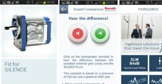 Fit4Silence – nowa aplikacja do pomiaru hałasu firmy Bosch Rexroth
