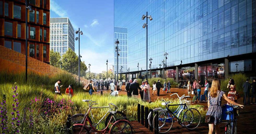 Największe inwestycje biurowe w kraju powstają nie tylko w Warszawie