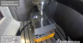 VoluMill – CAMdivision – Siemens NX CAM