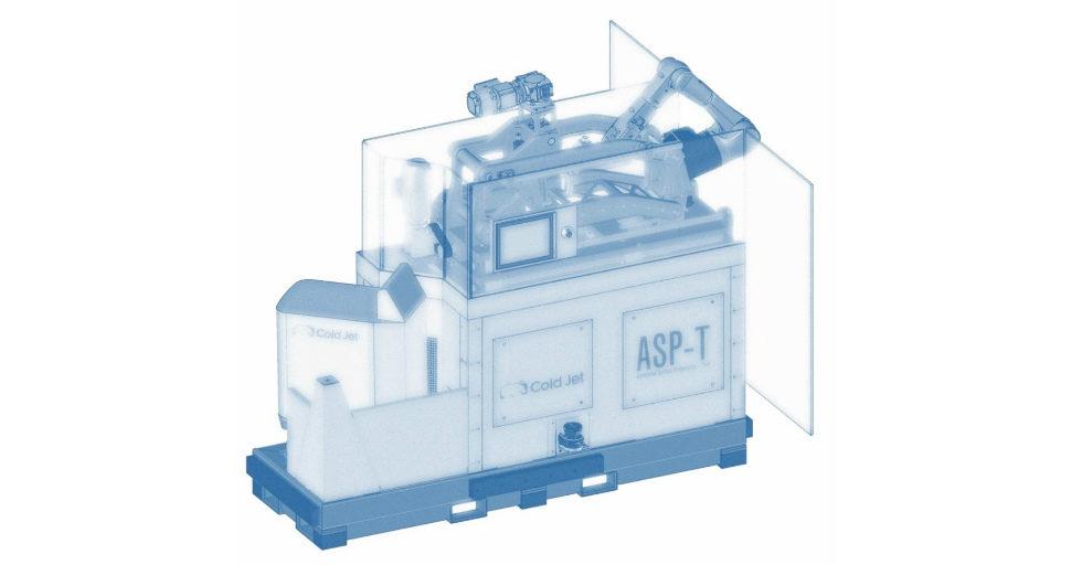 Zautomatyzowany system czyszczenia form do opon ASP-T