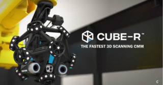 Robot + skaner 3D z systemem pomiaru 3D = najszybszy 3D scanning CMM