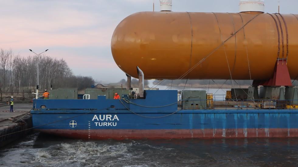 cumowanie statku (1)
