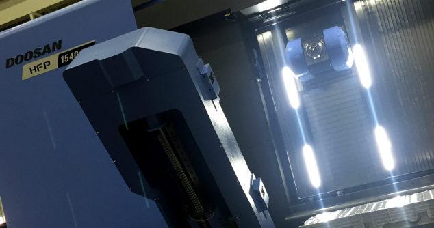 3 nowe precyzyjne obrabiarki dla branży lotniczej ze stajni Doosan Machine Tools