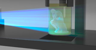 Początek końca druku 3D jaki do tej pory znamy? Kształtowanie obiektów przy pomocy promieni światła