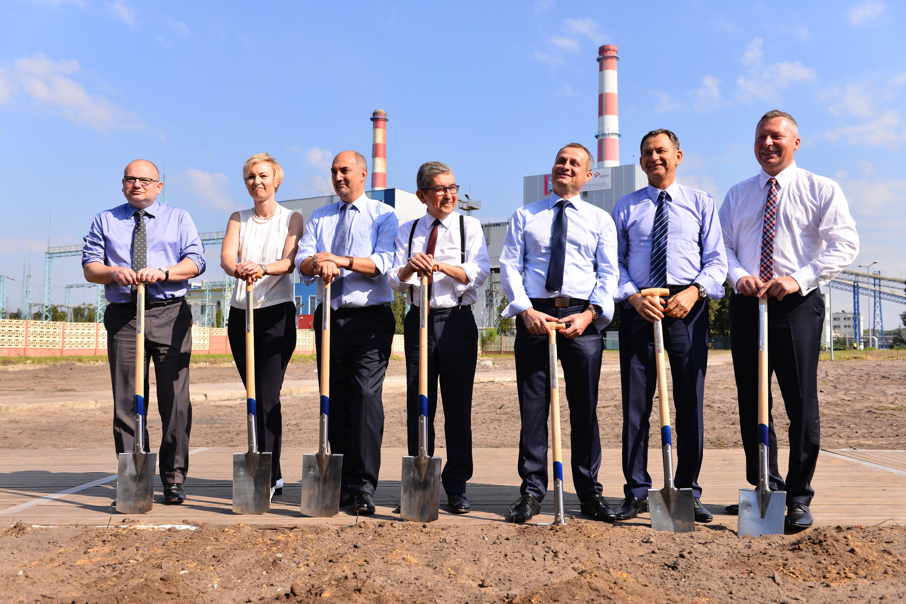 Tauron rozpoczyna budowę w Elektrowni Jaworzno