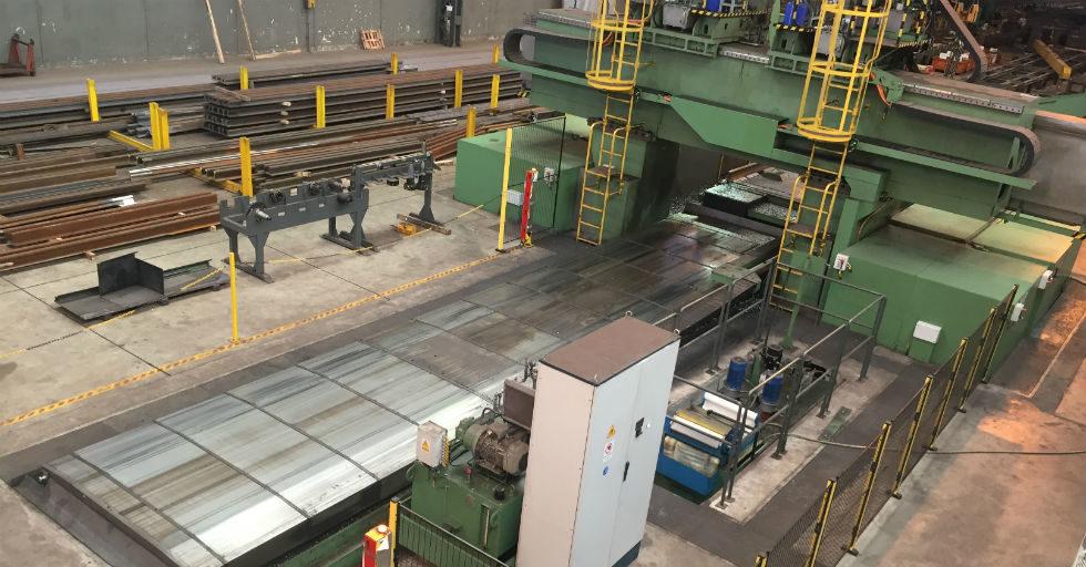 Obrabiarki bramowe DTI dla przemysłu ciężkiego