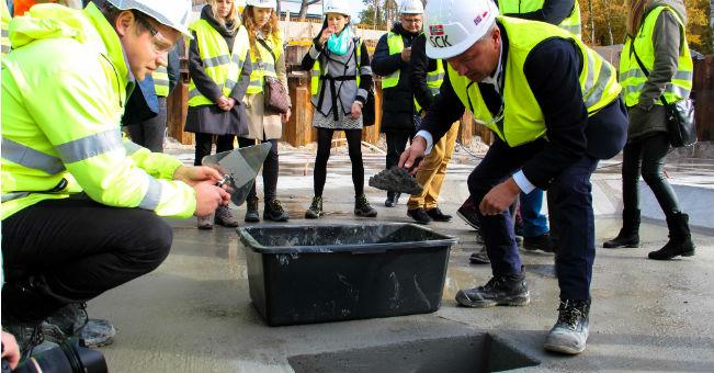 Mielno: początek budowy apartamentowca Dune B