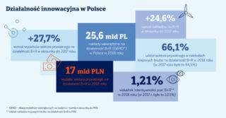 Działalność innowacyjna w Polsce. Czy warto inwestować w badania i rozwój?