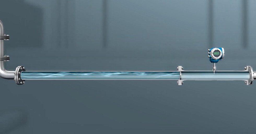 Przepływomierz termiczny z możliwością pomiarów dwukierunkowych oraz detekcją przepływu wstecznego