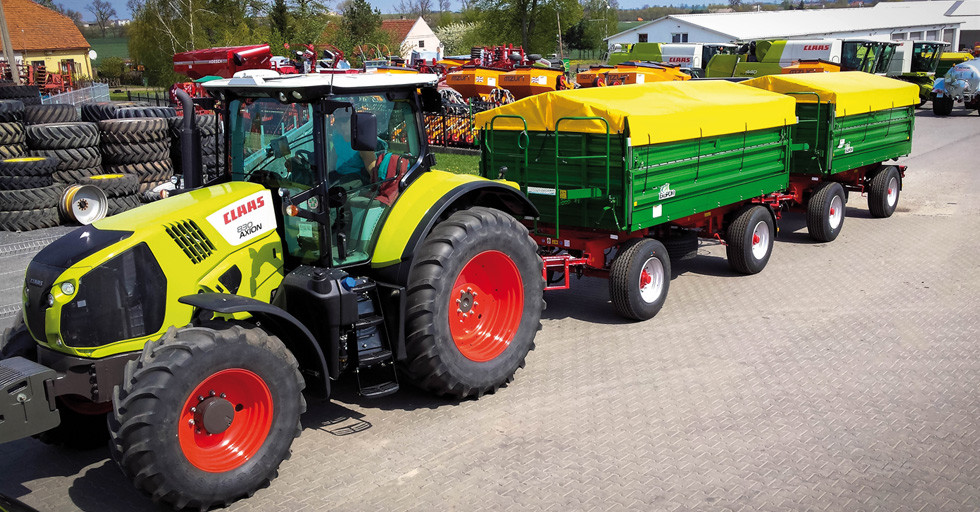 EkoPom – przyczepy rolnicze o dużej kubaturze i tonażu