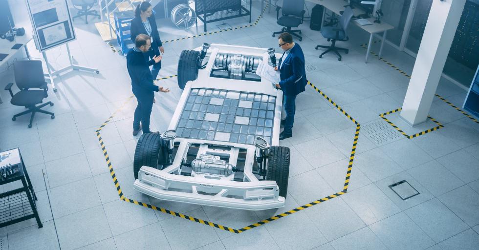 Spienione tworzywa przyszłością samochodów elektrycznych?