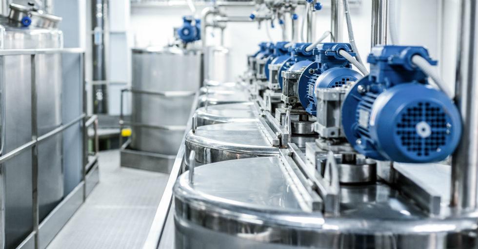 Modernizacja silników elektrycznych w procesach w branży spożywczej i napojów