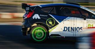 Elektryczna rajdówka Elimen E-RX1 do rallycrossu