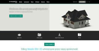 Platforma społecznościowa dla branży budowlanej e-model.io: projekty 3D i BIM