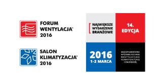 Pompy ciepła i sekcyjne centrale wentylacyjne na Forum Wentylacja – Salon Klimatyzacja 2016