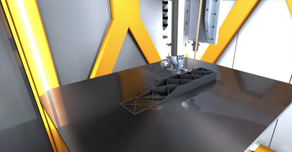 Ultraszybkie wytwarzanie w procesie SEAM: drukowanie 3D połączone z systemem ruchu obrabiarki