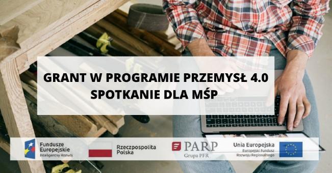 Spotkanie informacyjne nt dofinansowania dla MŚP dla wdrożeń w zakresie cyfryzacji, automatyzacji i robotyzacji
