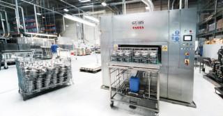 GT 85 –  kompaktowe myjnie ultradźwiękowe i wyspecjalizowane oraz zrobotyzowane linie myjące