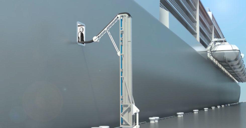Systemy do zasilania statków energią elektryczną z lądu
