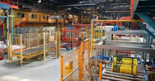 Sukces nowej linii produkcyjnej izolacji ISOVER-u