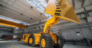 KGHM ZANAM dostarczy 9 ładowarek ŁK-1M do kopalni PAO GAISKI GOK w Rosji