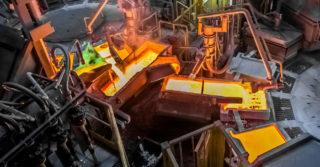 Uruchomiono piec do przetopu recyklingowego miedzi w legnickim KGHM