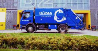 Inteligentna śmieciarka Comeco będzie produkowana w ełckim Technoparku