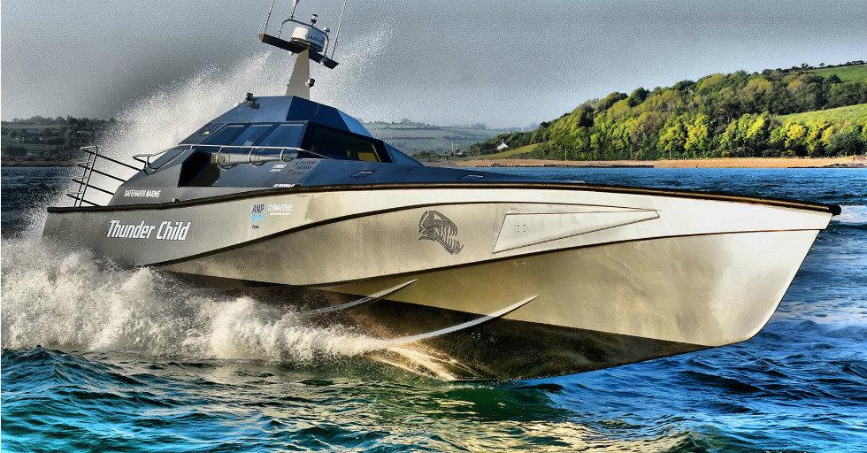 Thunder Child: genialna łódź z projektu Franka Kowalskiego
