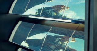 Automatyczne lamele – łamacze światła wyposażone w perowskitowe ogniwa słoneczne