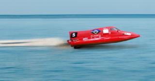 Polska łódź elektryczna w wyścigach motorowodnych E1 H2O