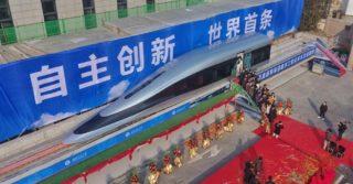 Chiny zaprezentowały pociąg maglev, który ma osiągnąć prędkość 620 km/h