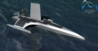 Aluship Technology tworzy kadłub do autonomicznego statku Mayflower