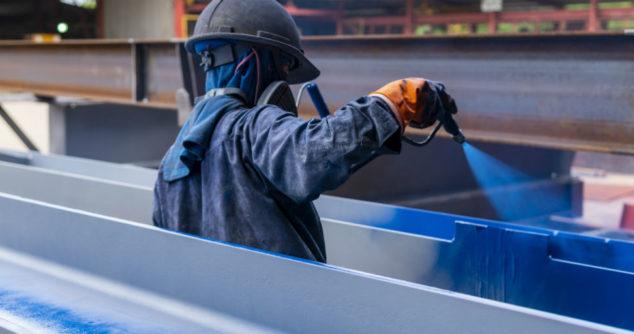 Pasywna powłoka przeciwpożarowa w celu zabezpieczenia konstrukcji stalowych