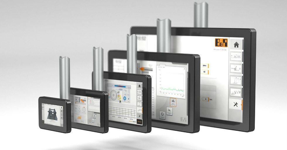 Ultracienkie panele operatorskie dla maszyn