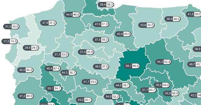 Dlaczego w Polsce jedne regiony rozwijają się szybciej niż inne