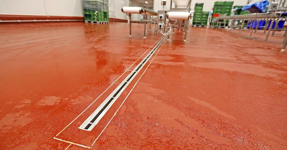 Antybakteryjne posadzki poliuretanowo-cementowe w zakładach drobiarskich