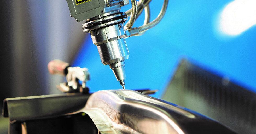 5-osiowa laserowa obróbka blachy