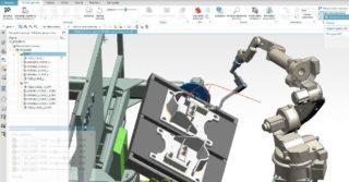 Programowanie offline robota przemysłowego do procesu spawania