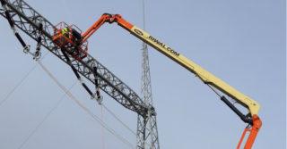 Prace na wysokości, w obrębie linii i urządzeń elektroenergetycznych
