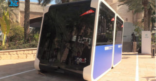 Autonomiczne kapsuły transportu miejskiego na testach w Dubaju