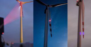 System zdalnego pomiaru stanu technicznego łopat turbin wiatrowych