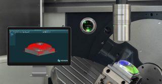 Kontrola jakości elementu w trakcie procesu obróbki CNC: przechwytywanie 40 000 punktów pomiarowych na sekundę