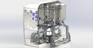 Nowa technologia druku 3d metalu: LED zamiast wiązki laserowej lub elektronowej