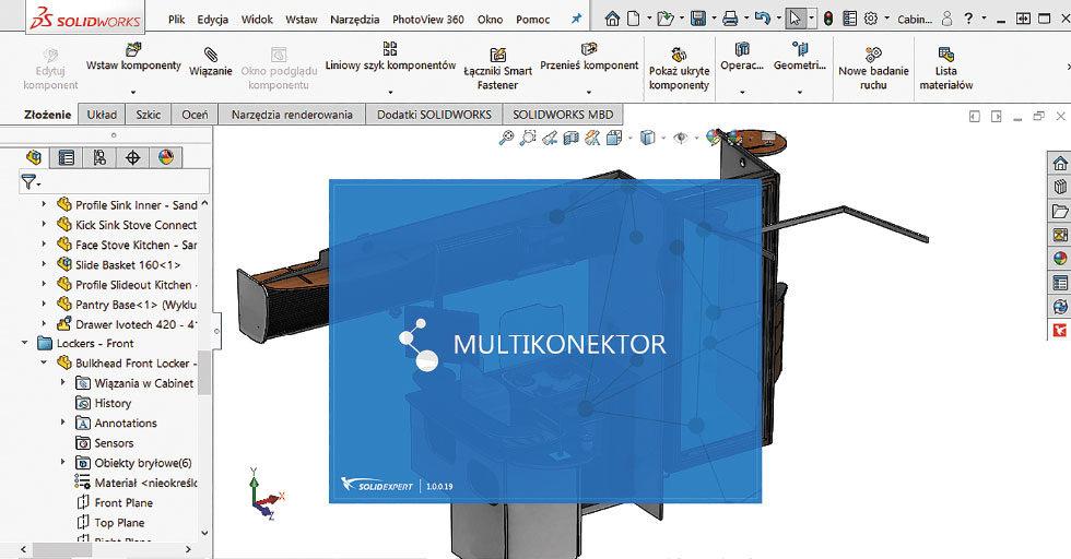 Integracja środowiska CAD i PDM z systemami klasy ERP – Multikonektor
