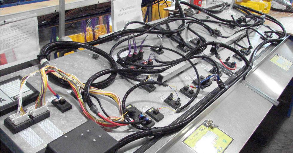 Starpol: wiązki przewodów elektrycznych