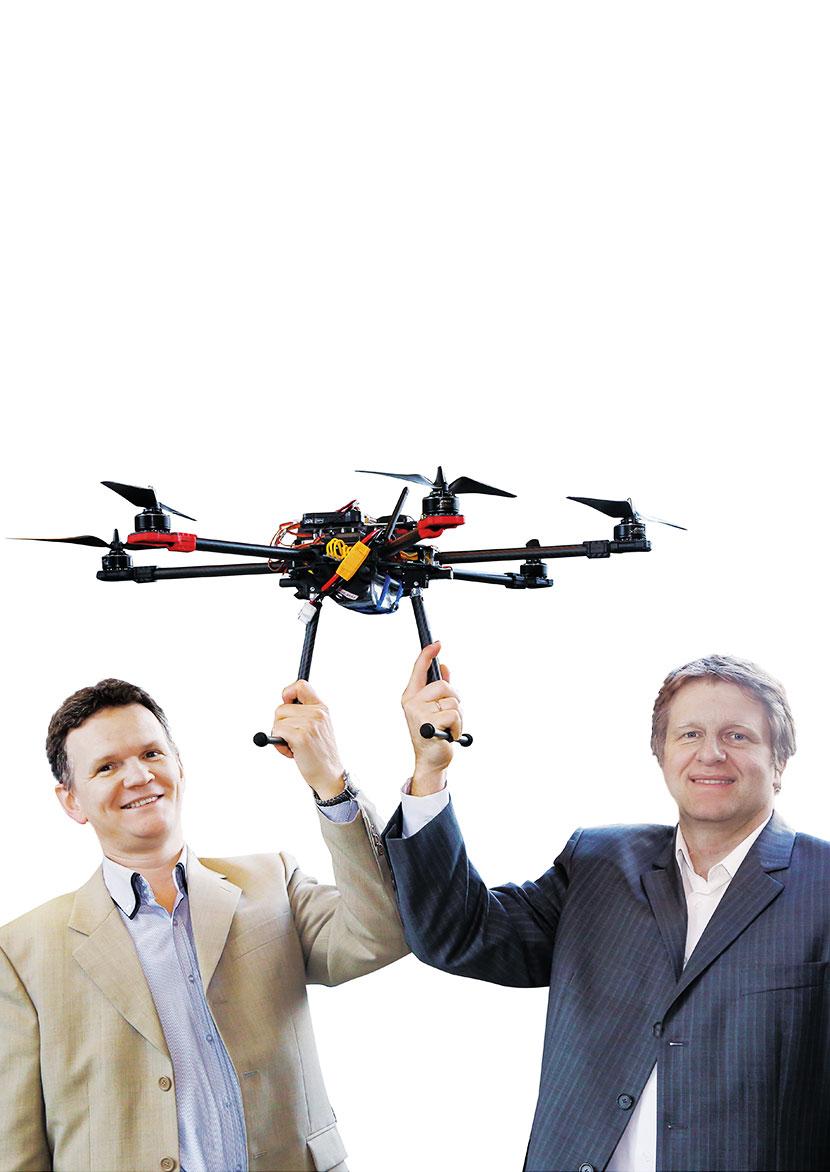 Sky Tronic: nowoczesne technologie do dronów, działające jak ludzki mózg