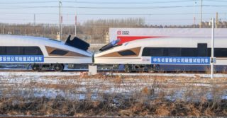 System pochłaniania energii zadziałał w teście zderzeniowym kolei dużych prędkości w Chinach