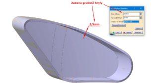 Doskonalenie topologii modeli CAD w kontekście ich podatności na zmiany konstrukcyjne – etap przygotowania modelu