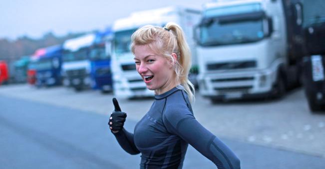 Truckers Life i cudna dziewczyna